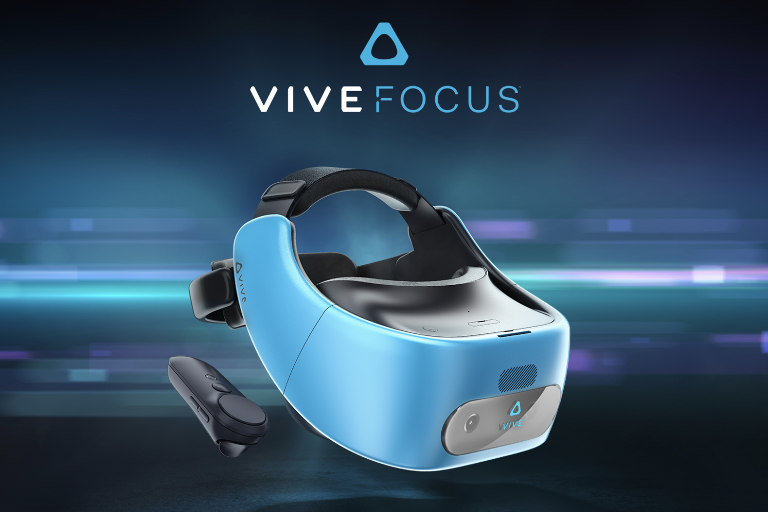 HTC's standalone virtual reality headset named the Vive Focus.