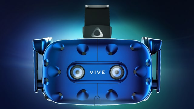 Vive Pro virtual reality headset debuted at CES 2018.
